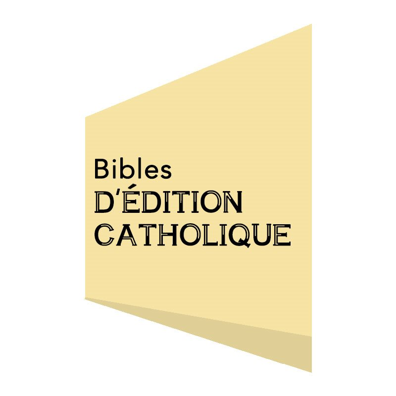 CATHOLIC EDITION BIBLES