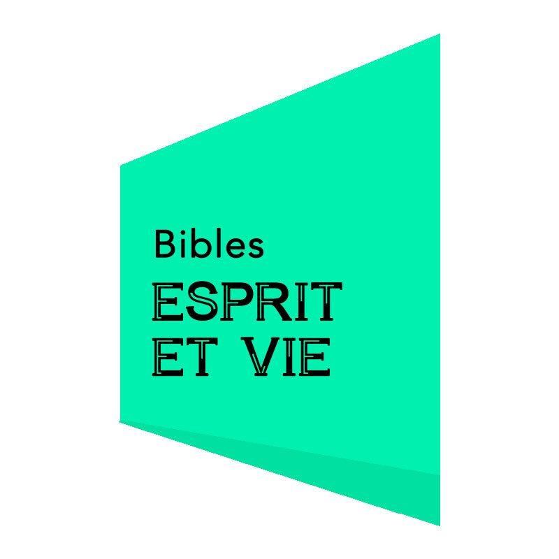 BIBLES ESPRIT ET VIE