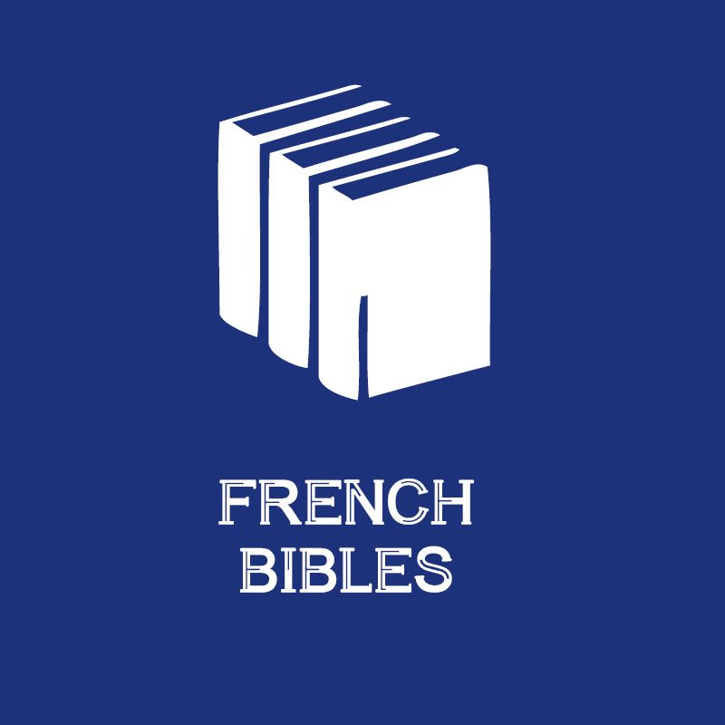 BIBLES IN FRENCH