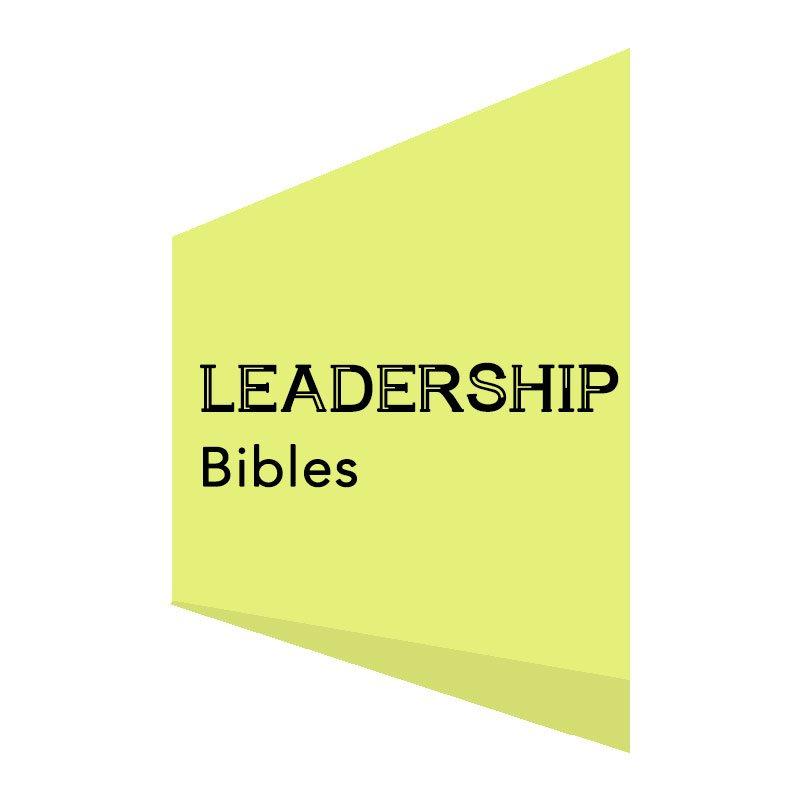 LEADERSHIP BIBLES