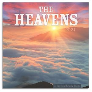 Mini Wall Calendar-2021-The Heavens (7 X 7)