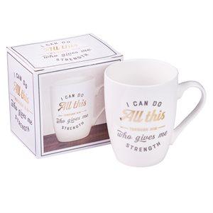 I Can Do All Things Coffee Mug – Philippians 4:13