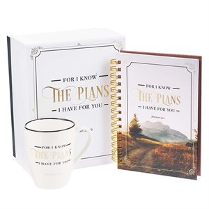 Kit Cadeau - Tasse et Journal / I Know the Plans Journal and Mug Boxed Gift Set