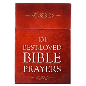 101 BEST-LOVED BIBLE PRAYERS CARDS - A BOX OF BLESSINGS