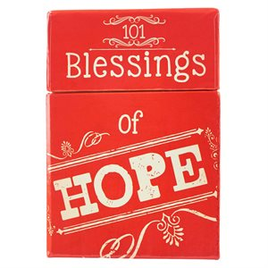 101 BLESSINGS OF HOPE CARDS - A BOX OF BLESSINGS
