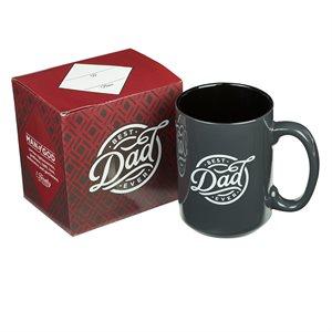 Coffee Mug - Best Dad Ever in Black