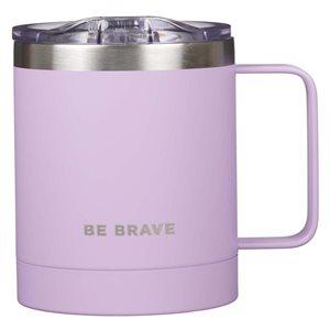 Tasse de Café en Acier Inoxydable / Be Brave Stainless Steel Camp Mug in Lavender