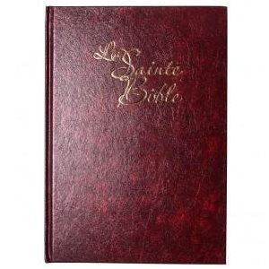 La Sainte Bible - Louis Segond (Gros Caractères, Couverture Rigide rouge)