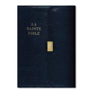 La Sainte Bible Louis Segond - Similicuir, Compact, Fermoir à Pression