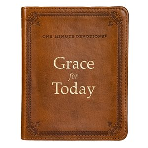 One Minute Devotions, Grace for Today, Lux-Leather