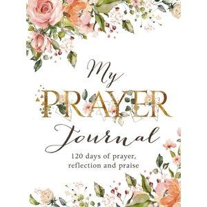 My Prayer Journal, White Floral