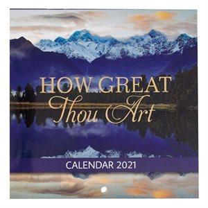 2021 How Great Thou Art Mini Wall Calendar