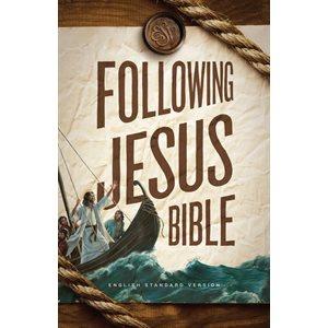 ESV Following Jesus Bible - Hardcover