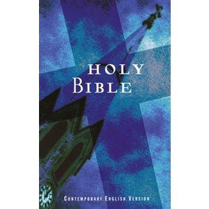CEV Economical Bible, Paper, Blue