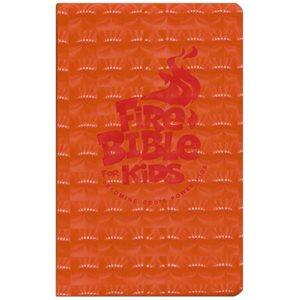 NKJV Fire Bible for Kids, Flexisoft
