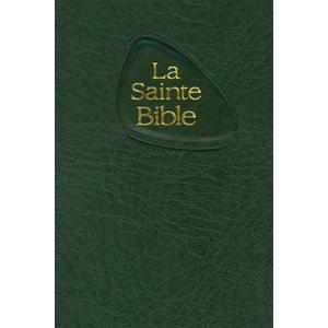 La Sainte Bible - Nouvelle Édition de Genève (NEG), Format de poche, Couverture souple noire, tranche blanche