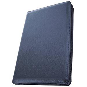 La Sainte Bible - Nouvelle Édition de Genève (NEG), Compacte Couverture Noire, Fermeture à glissière, tranche dorée