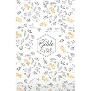 La Bible Segond 21 (S21) - Journal de bord (Avec grandes marges - Couverture rigide blanche avec motifs)