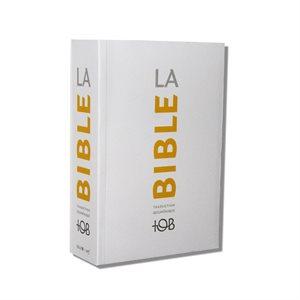 La Bible - Traduction Oecuménique de la Bible (TOB), à Notes Essentielles, Couverture souple blanche