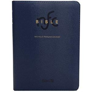La Bible Version Nouvelle Français Courant (NFC), Couverture semi-rigide bleue, Sans les livres deutérocanoniques