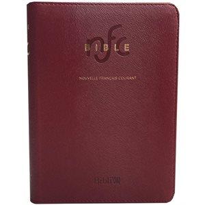 La Bible Version Nouvelle Français Courant, Rouge, Édition Catholique