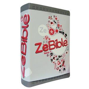 ZeBible - Avec les Deutérocanoniques, Couverture Similicuir gris semi-rigide