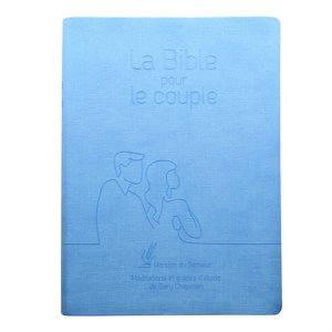 La Bible pour le Couple - Couverture Souple bleue (Version Semeur 2015. Méditations et guides d'étude de Gary Chapman)