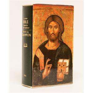 La sainte Bible d'après Les Textes Originaux - Chanoine Augustin Crampon, Agrandi Rigide Vert avec Étui