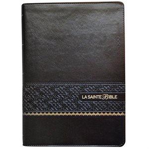 La Sainte Bible - Louis Segond (Similicuir Noir, Tranches Or, Gros Caractères)