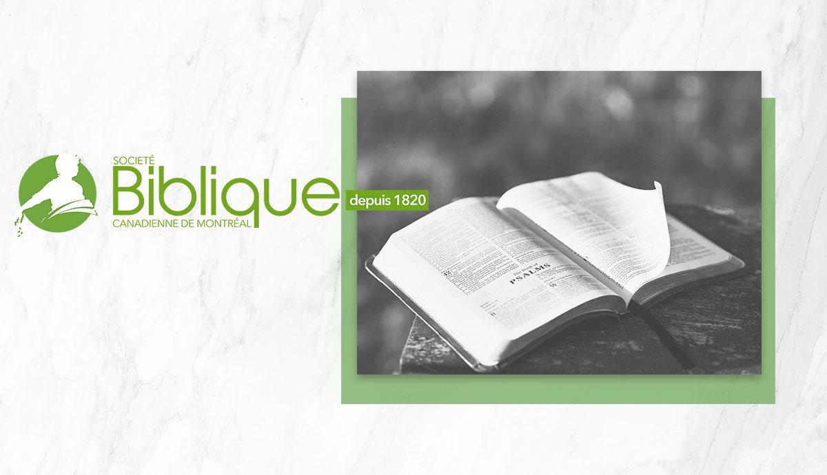 Société biblique canadienne de montréal